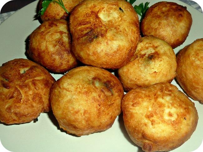 croquette de pomme de terre aux épinards
