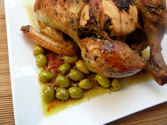poulet a la marocaine