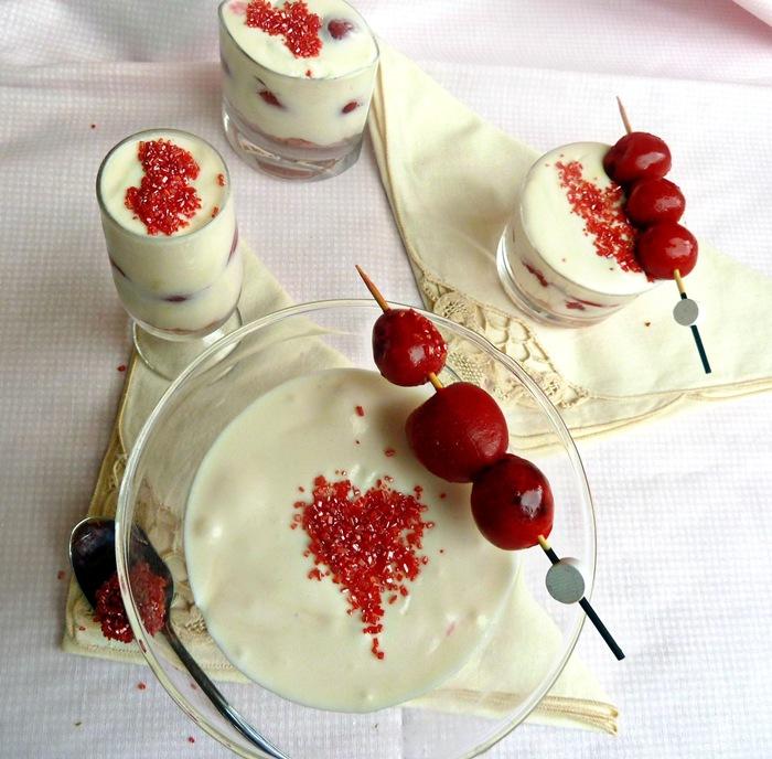 verrines chocolat blanc