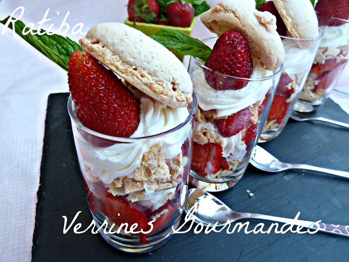 verrines gourmande