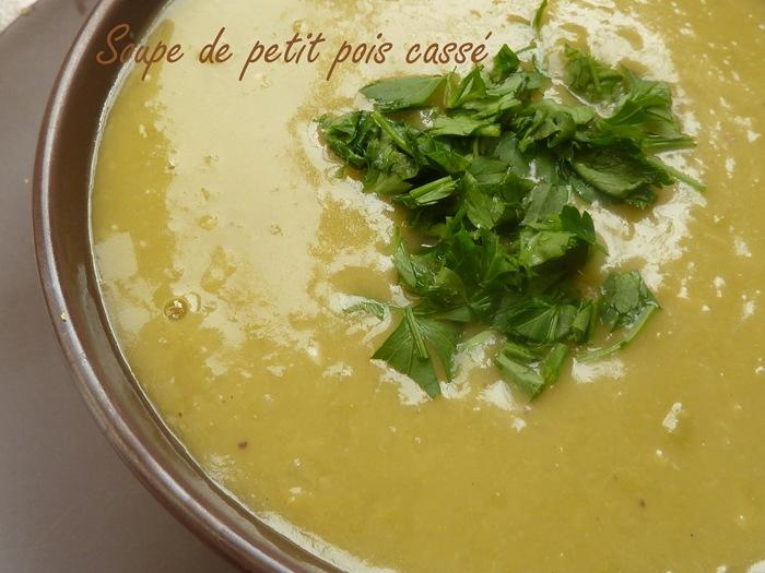 Soupe De Petit Pois Casse