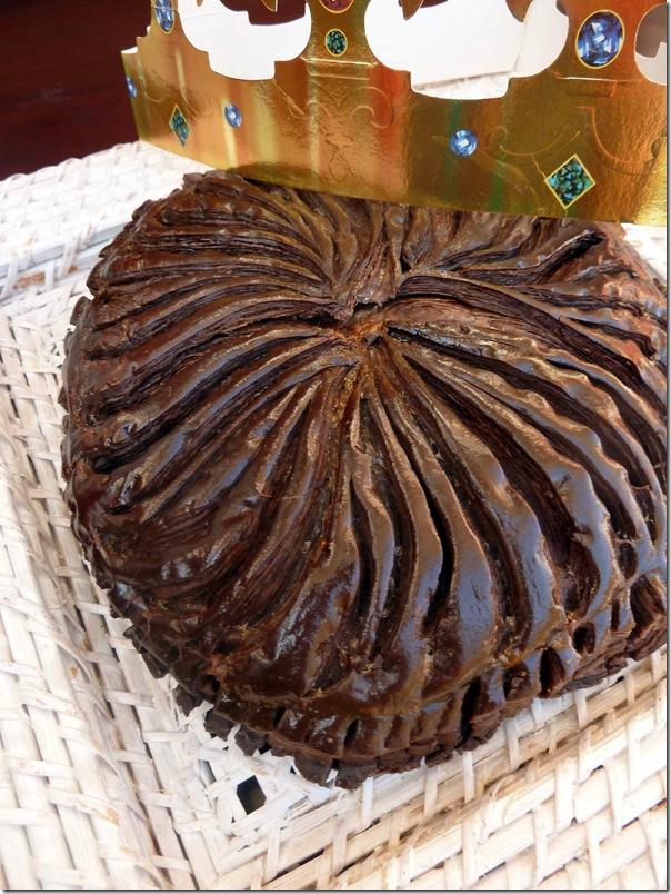 recette galettes des rois chocolatée